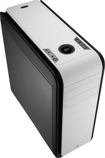 Gabinete DS 200 Black/White sem Fonte - Aerocool