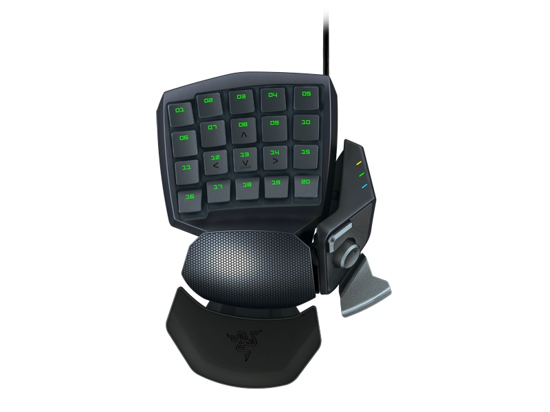 Teclado Mecânico Orbweaver Stealth Gaming Keypad RZ07-00740400-R3M1 - Razer