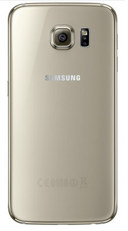 Smartphone Galaxy S6 G920I, Octa Core, Android 5.0, Tela Super Amoled 5.1, 32GB, 16MP, 4G, Dourado - Samsung