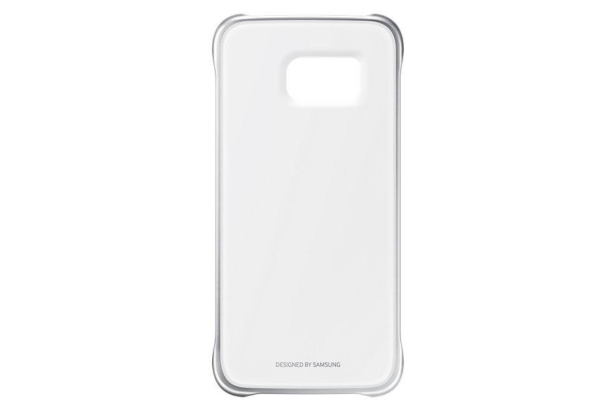 Capa Protetora Clear Galaxy S6 Borda Prata EF-QG920BSE -  Samsung