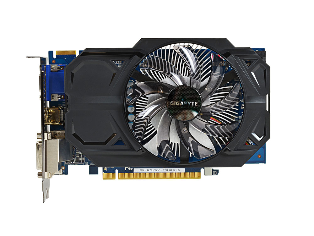 Placa de V�deo R7 250X 2GB GDDR5 128Bits GV-R725XOC-2GI - Gigabyte