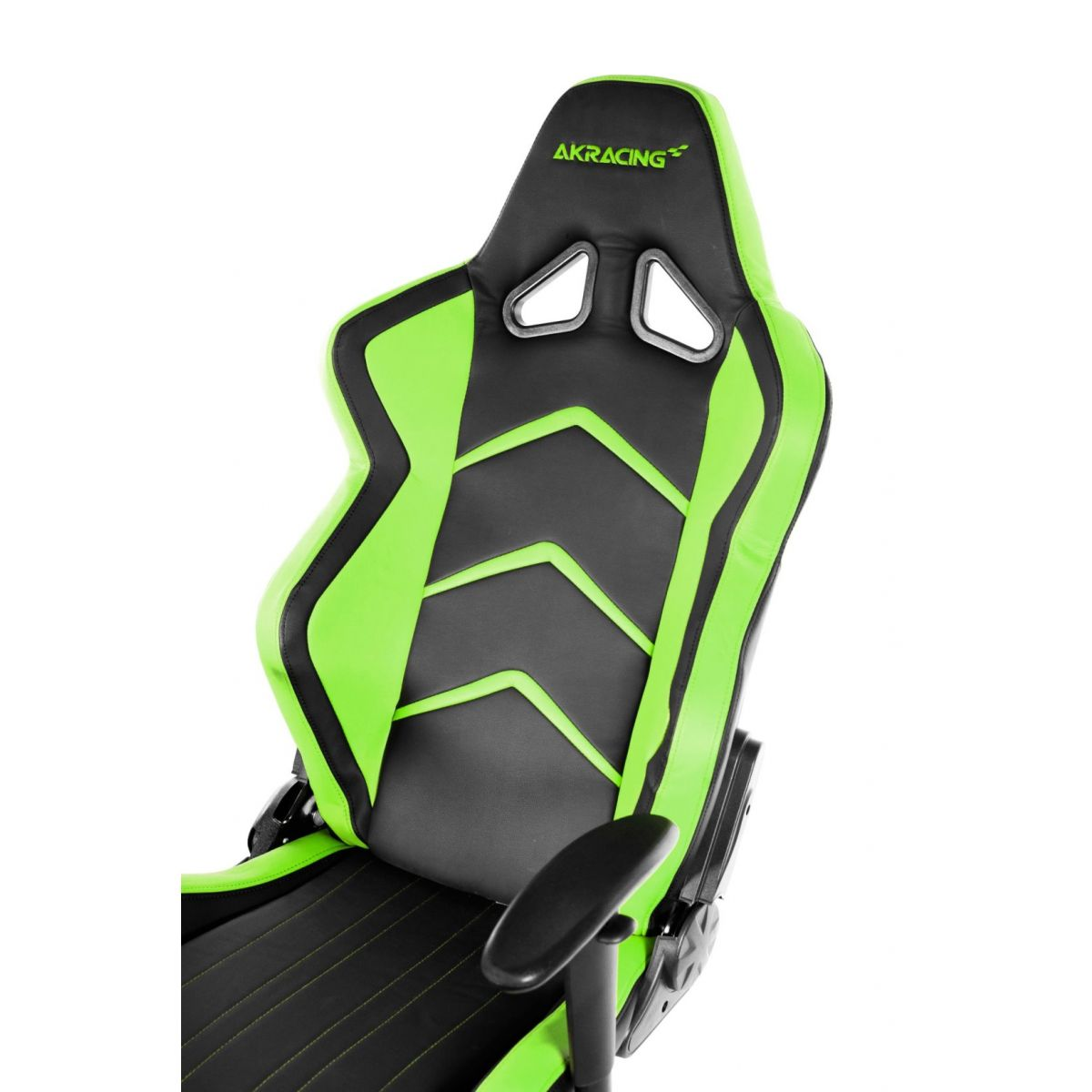 Cadeira AKRacing Player Gaming Black/Green AK-K6014-BG - AKRacing