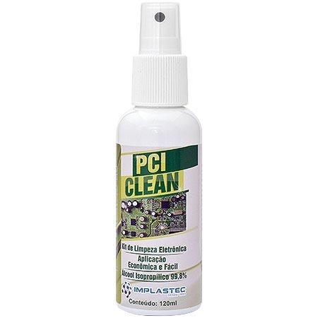 Kit Limpeza Eletrônica 120ML PCI Clean CR3-ONU1219 - Implastec