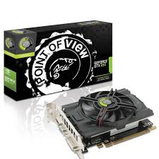 Placa de V�deo Geforce GTX650 1GB DDR5 128Bit VGA-650-A2-1024 - Point Of View