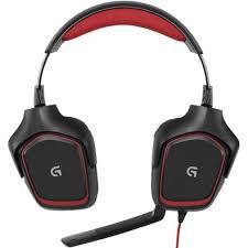 Headset Game Stereo Com Fio G230 981-000541 - Logitech