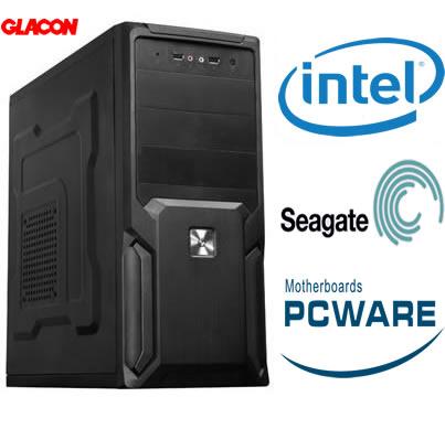 Computador Intel 4º Geração Dual Core 3.0Ghz Memória de 4GB 1600Mhz HD 1TB 64MB DVD-RW - Glacon