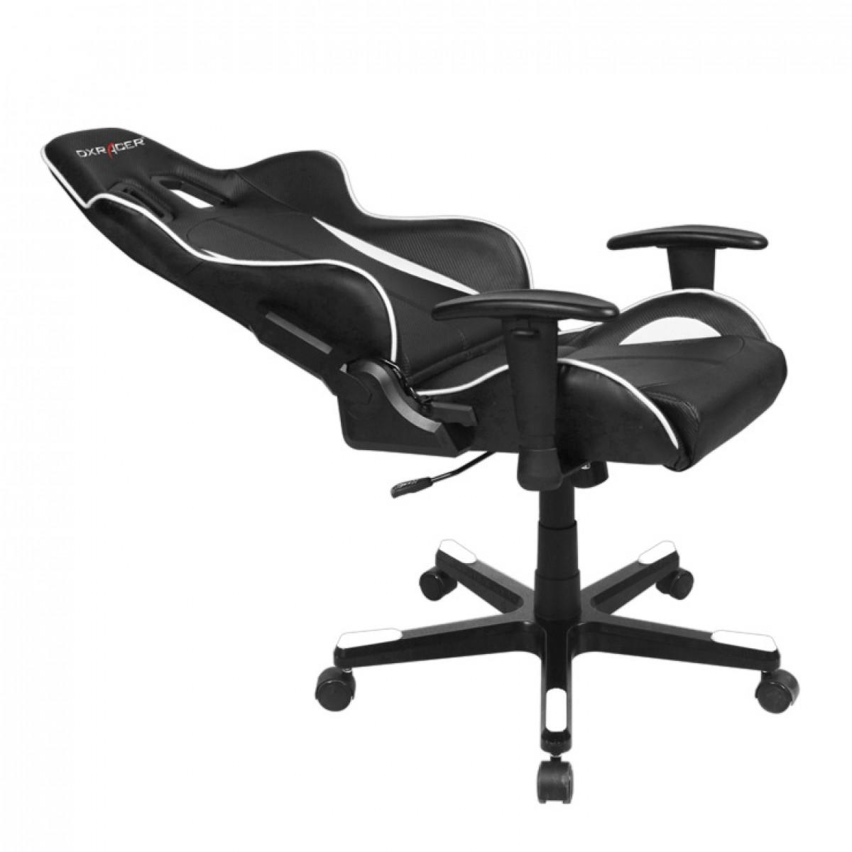 Cadeira F-Series OH/FE57/NW Preto/Branco - DXRacer