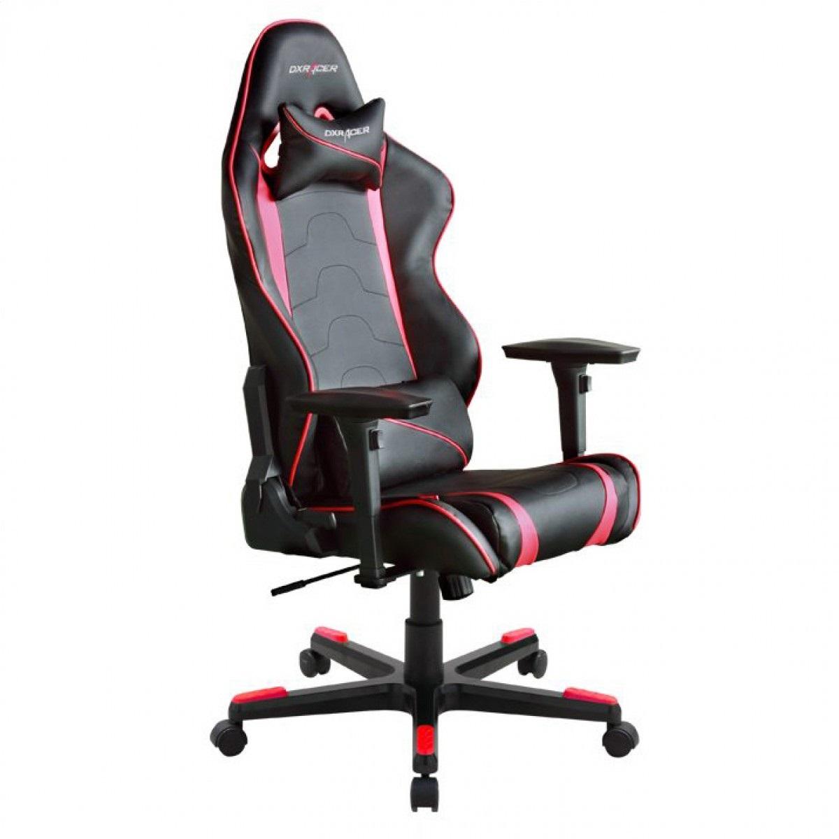 Cadeira R-Series OH/RF8/NR Preto/Vermelho - DXRacer