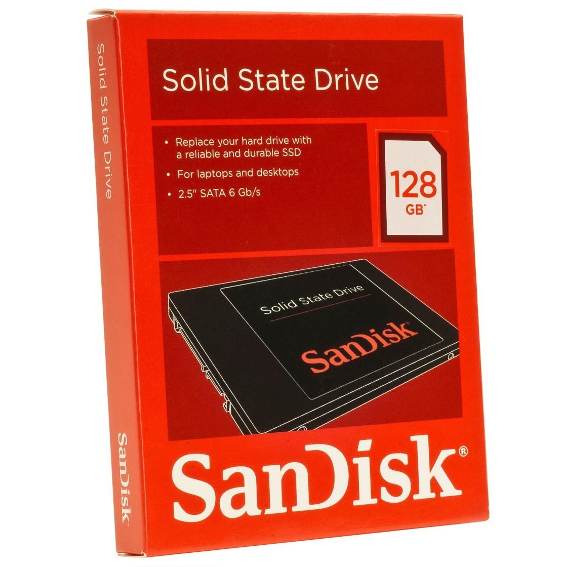 SSD 128GB Sata III 2.5 SDSSDP-128G-G25 - SanDisk