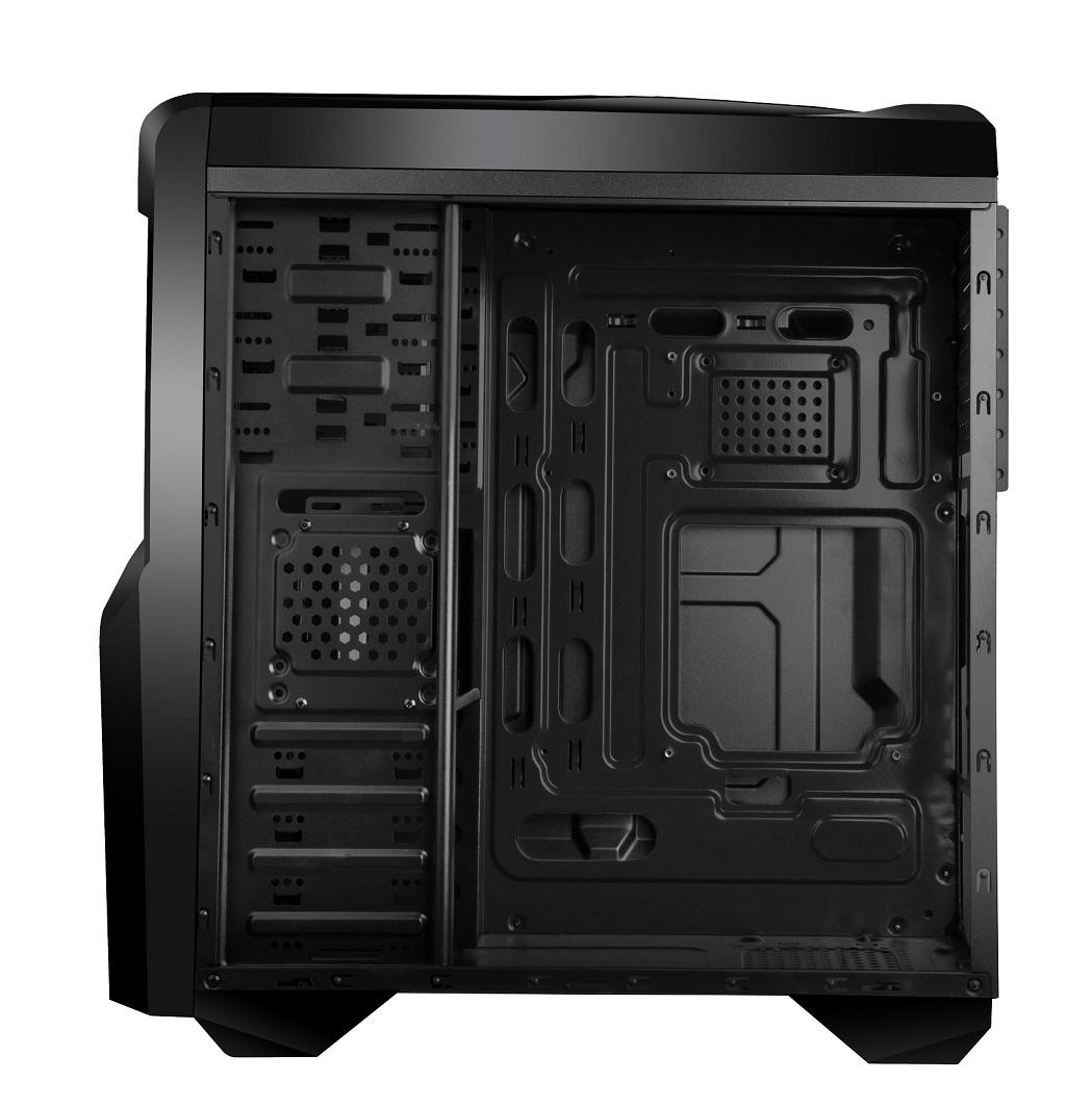 Gabinete ATX Gamer Cyborg USB 3.0 Preto GA133 - Multilaser
