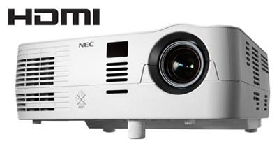 Projetor VE282B DLP 2800 Lumens / SVGA / 3000:1 /HDMI / 3D - NEC