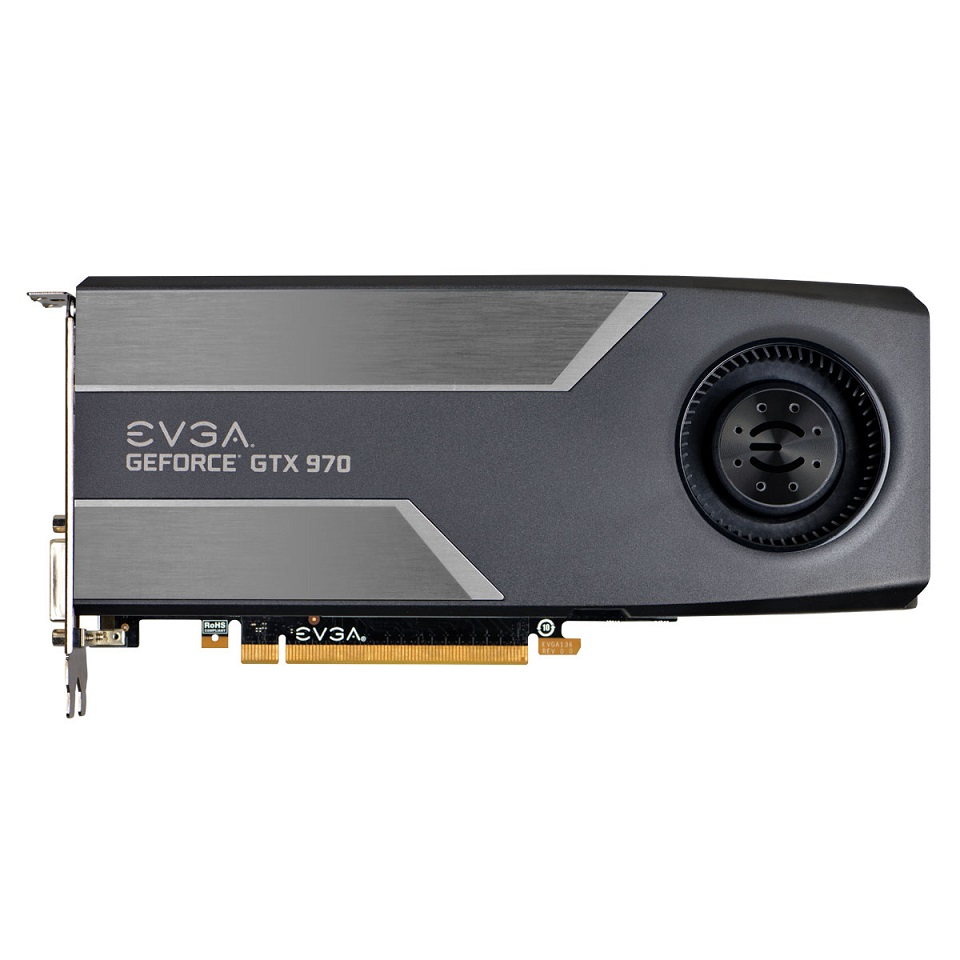 Placa de Video GeForce GTX970 4GB DDR5 04G-P4-1970-KR - EVGA