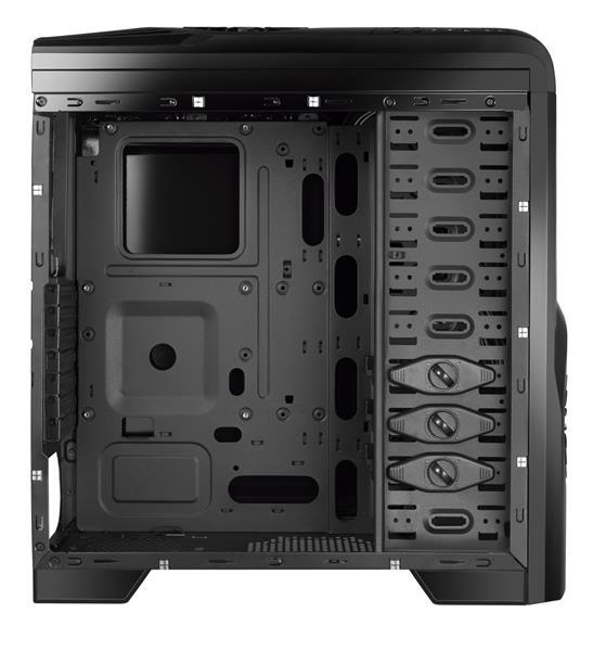 Gabinete ATX Gamer Storm LED Azul GA132 - Multilaser