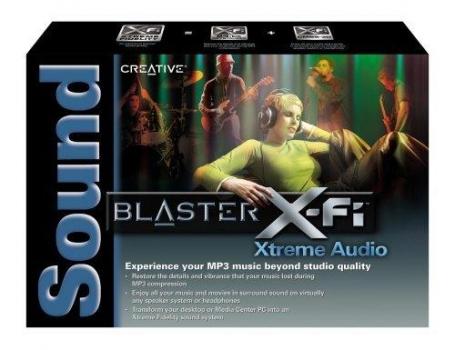 Placa de Som Sound Blaster X-F Xtreme Audio 24-Bit 7.1 70SB104000000 - Creative