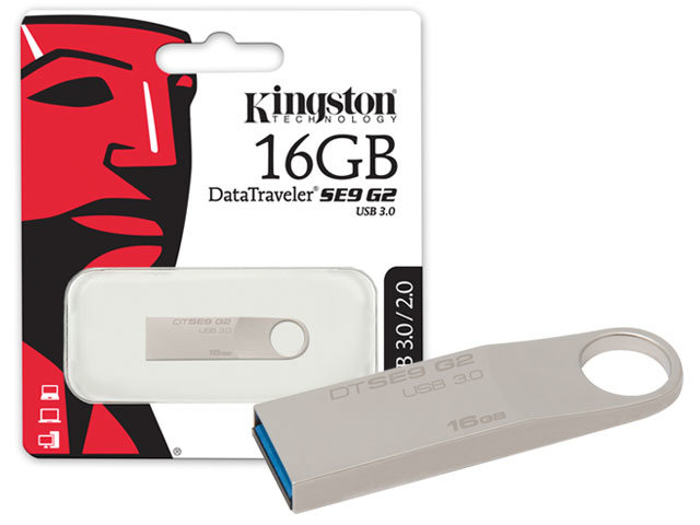 Pen Drive 16GB USB 3.0 Datatraveler DTSE9G2/16GB - Kingston