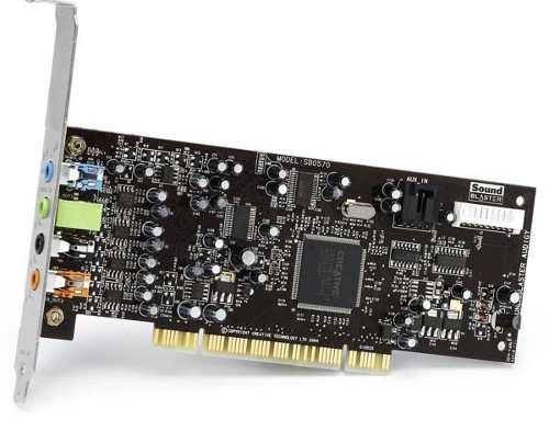 Placa de Som Sound Blaster Audigy SE 24Bit Digital 7.1 Canais SB0570