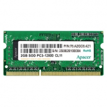 Memoria de Notebook 2GB DDR3 1333Mhz 78.A2GC9.9K00C - Apacer