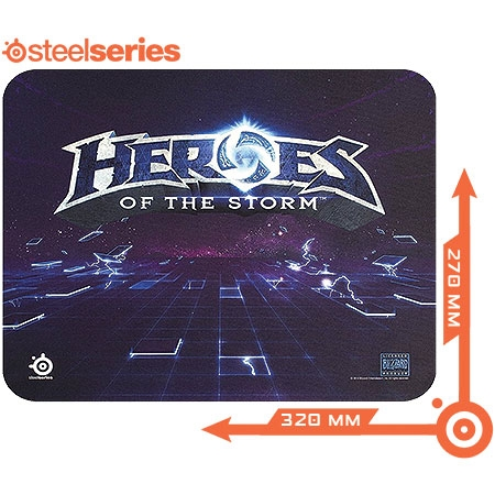 Mouse Pad QCK Heroes of The Storm 63076 - Steelseries