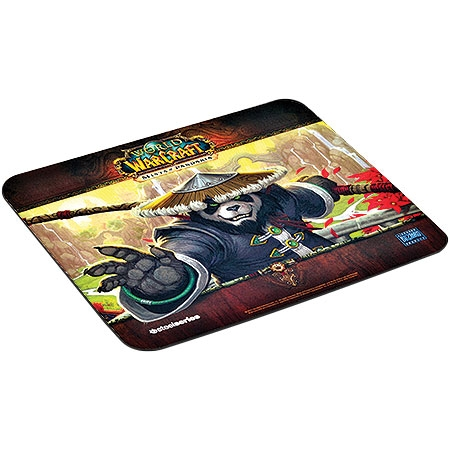 Mouse Pad QCK Panda Monk Edition 67244 - Steelseries