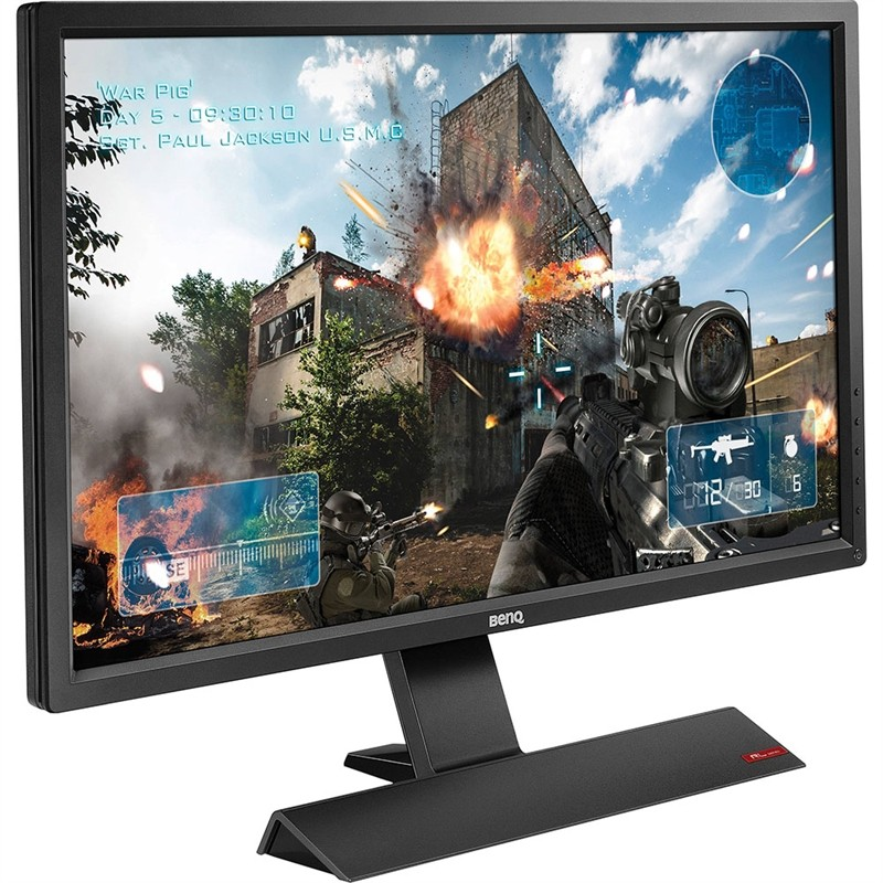 Monitor LED 27 Gaming Com Flicker-Free, Low light Blue D-Sub/DVI/HDMI/ Fone RL2755HM - Benq