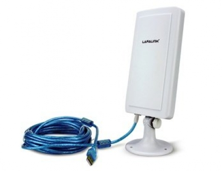 Adaptador Wireless 150Mbps USB Alto Ganho 12DBI ANT-4 ( LF-D520) - Lafalink