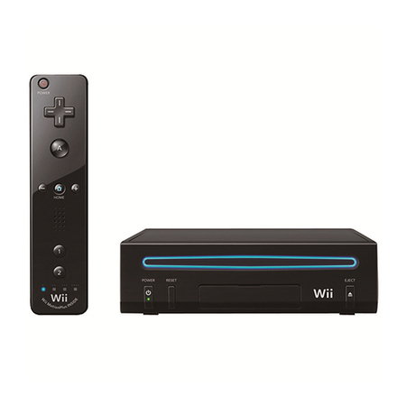 Video Game Wii Black Core 1K - RVK - Nitendo
