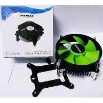 Cooler para Intel LGA 1155/1156/1150 MYC-1050N-EB Verde - Mymax
