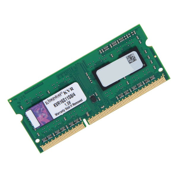 Memória para Notebook 4GB 1600Mhz DDR3 SODIMM KVR16S11S8/4 - Kingston
