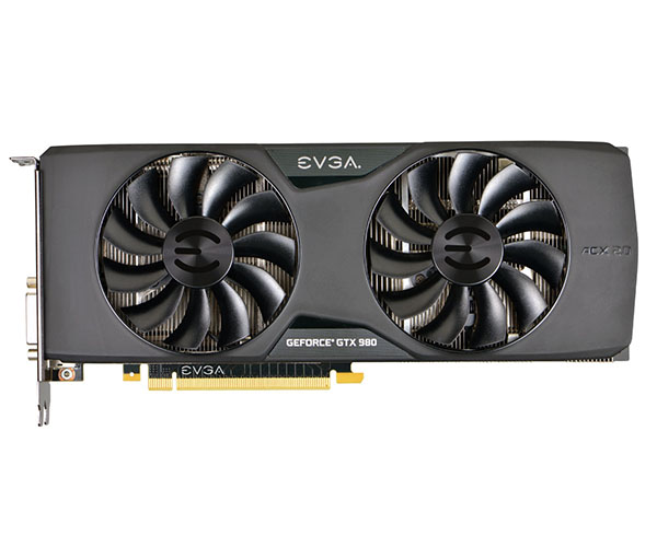 Placa de Vídeo Geforce GTX980 4GB SC ACX2.0 DDR5 256Bits 04G-P4-2983-KR - EVGA