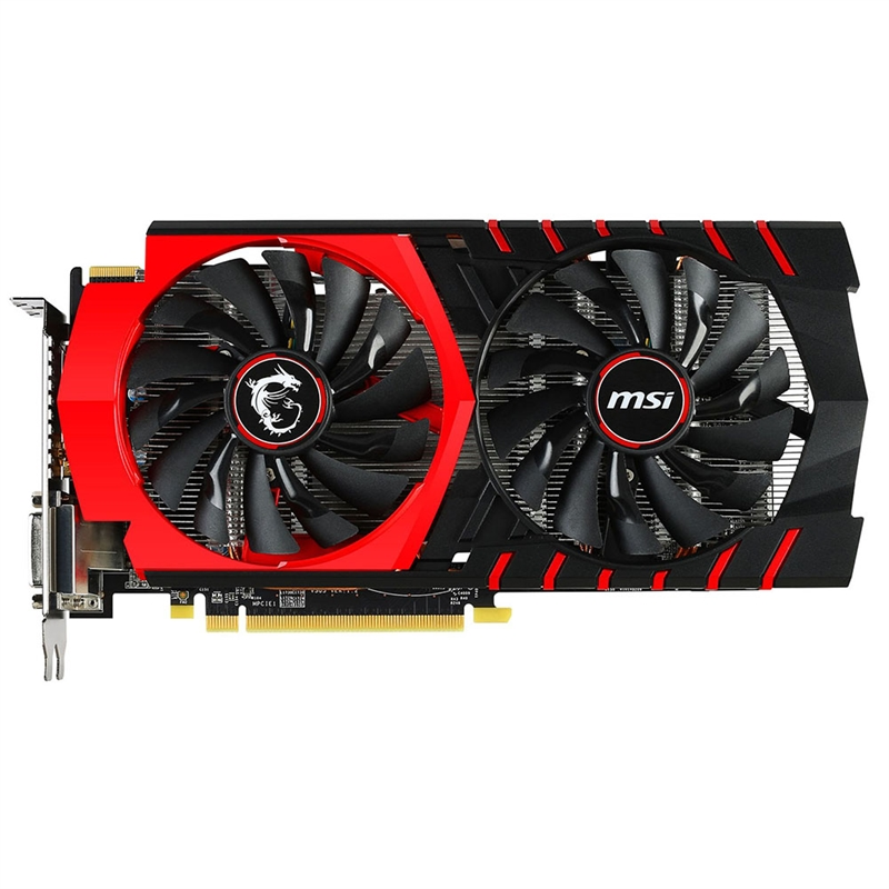 Placa de Vídeo R7 370 Gaming 2G 2GB 256Bit GDDR5 - MSI