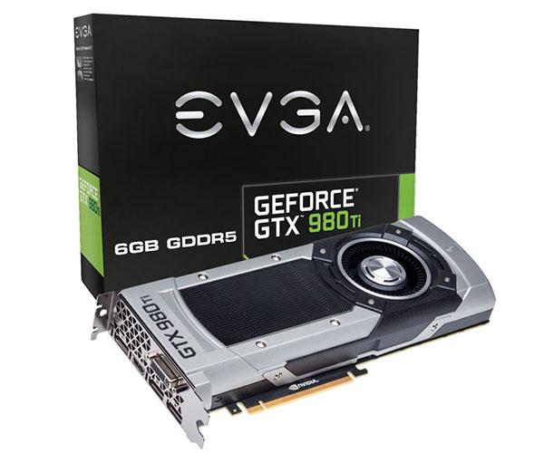 Placa de Vídeo Geforce GTX980 TI 6GB Ref NV Blower DDR5 384Bit 06G-P4-4990-KR - EVGA