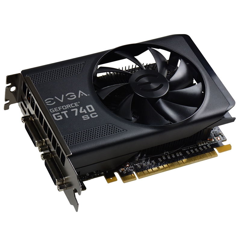 Placa de Vídeo Geforce GT740 SC 1GB DDR5 128Bit 01G-P4-3743-KR - EVGA