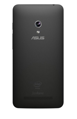 Smartphone ZenFone 5 A501-2A394 c/ Intel Cover Trail Plus 1.6Ghz, Android 4.3, Tela HD 5, 8GB, Cam 8MP, 3G, Dual Chip, Preto - Asus