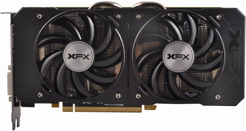 Placa de V�deo R7 370 4GB DDR5 Double Dissipation 256Bit R7-370P-4DF5 - XFX