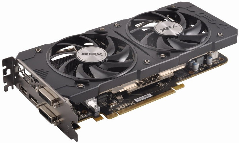 Placa de Vídeo R9 380 4GB DDR5 Double Dissipation 256Bit R9-380P-4DF5 - XFX