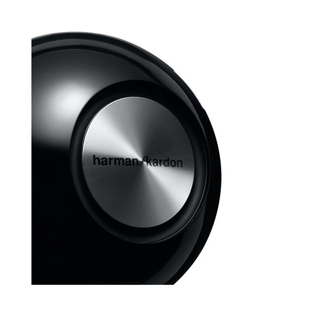 Caixa de Som HD Omni 10 Bluetooth/Wi-Fi 50W RMS Black HKOMNI10BLKEU - Harman Kardon