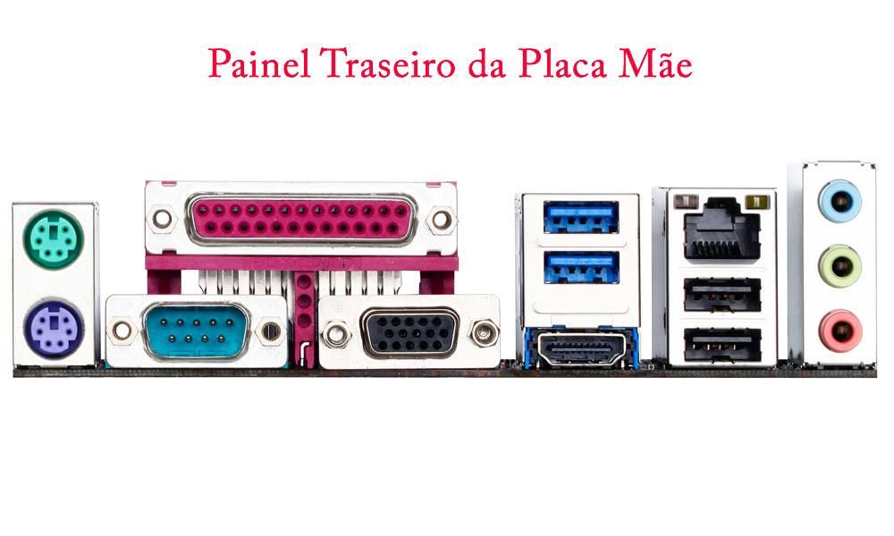 CPU Intel Dual Core G3250 3.2Ghz Memória de 4GB HD de 1TB DVD-RW Gabinete Slim Portas Paralela e Serial - Glacon