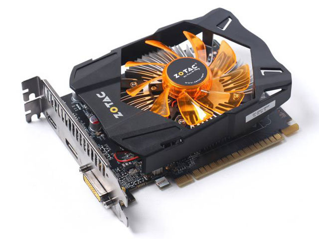 Placa de Vídeo Geforce GTX750 1GB DDR5 128Bit ZT-70706-10M - Zotac