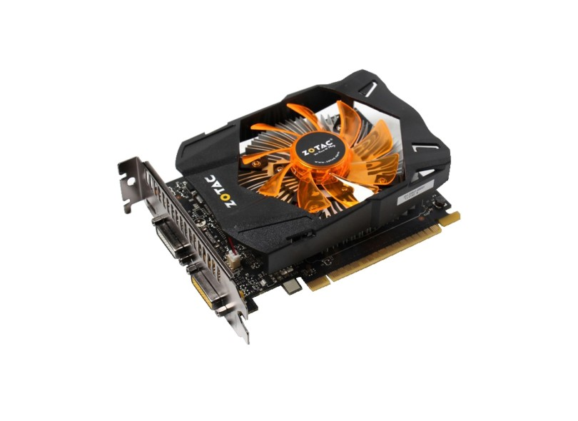 Placa de V�deo Geforce GTX750 2GB DDR5 128Bit ZT-70704-10M - Zotac