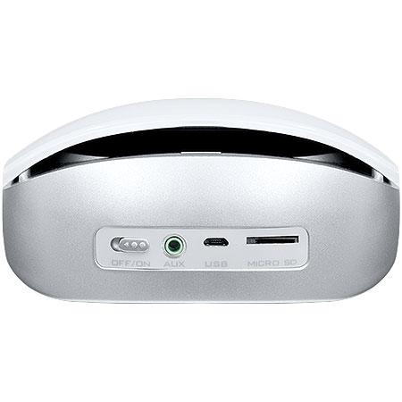 Caixa de Som Sensation 2.0 Bluetooth/Rádio FM/AUX/Micro SD/Função Atender Celular Branca - Pcyes