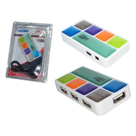 Mini HUB USB 2.0 4 Portas HUB0003 - OEM