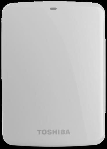 Hard Disk Externo Canvio Connect 2TB Branco HDTC720XW3C1 - Toshiba