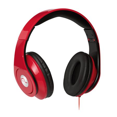 Fone de Ouvido Headphone Monster Vermelho PH076 - Multilaser