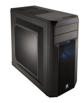 Gabinete ATX Carbide SPEC 02 Led Azul Mid Tower Gaming CC-9011057-WW - Corsair