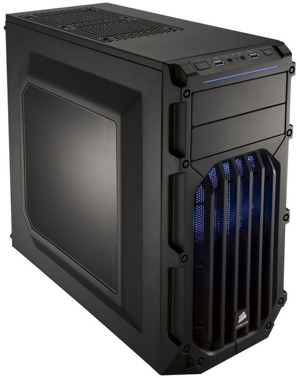 Gabinete Carbide SPEC-03 BLUE LED Mid Tower Gaming CC-9011058-WW - Corsair