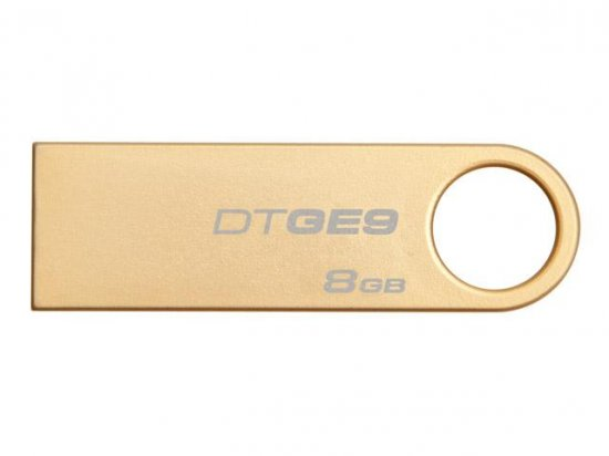 Pen Drive USB 8GB DTGE9/8GB Ouro - Kingston