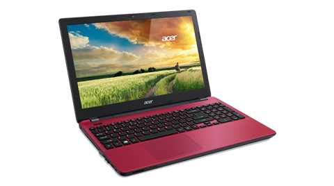 Notebook E5-571-51AF Intel Core i5 4GB HD 1TB DVD-RW Bluetooth Tela LED 15.6 Windows 8.1 Vermelho - Acer