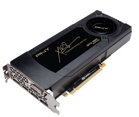 Placa de Vídeo Geforce GTX960 4GB DDR5 128Bit VCGGTX9604XPB - PNY