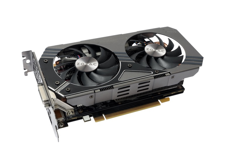 Placa de V�deo Geforce GTX960 4GB DDR5 128Bits ZT-90308-10 - Zotac