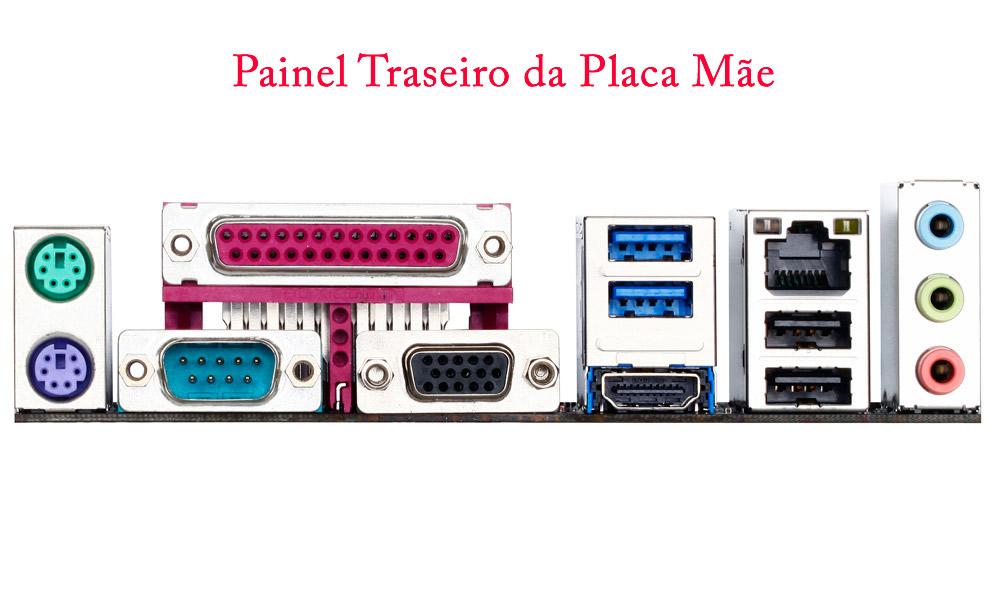 CPU G1 Dual Core G3250 3.2Ghz Memória de 4GB 1600Mhz HD de 1TB DVD-RW Gabinete Slim Portas Serial e Paralela - Glacon